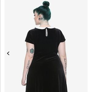 Plus size Wednesday Addams dress hot topic